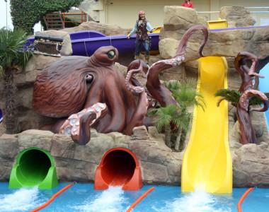 Decoracion de piscina para  Hotel Olympic Park