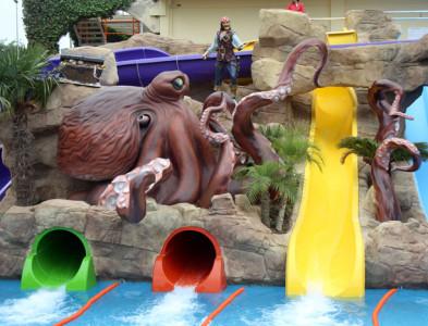 Aquapark del Hotel Olympic Park en Lloret de Mar