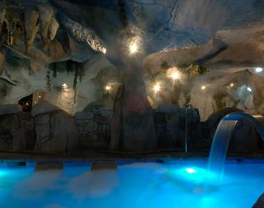 Decoración de Spa del Hotel Maria Manuela en Benia De Onís