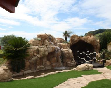 Tematización de Jardines del Restaurante y Sidrería Oianume