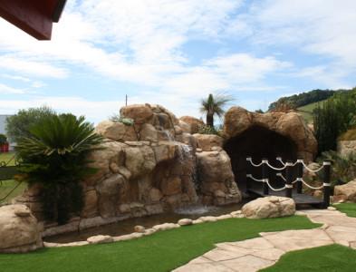 Jardines del Restaurante y Sidrería Oianume en Urnieta