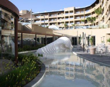 Fabricación de Escultura ola
