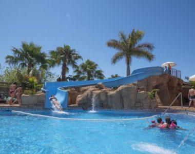 Rocas artificiales en el Hotel Victoria Playa